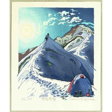 Morozumi Osamu: Climbing up along Snow Ridge - Japan - Artelino