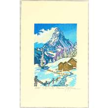 両角修: Matterhorn in Winter - Switzerland - Artelino