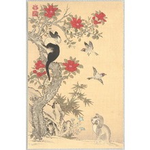 Jakuchu: Birds, Cat and Dog - Artelino