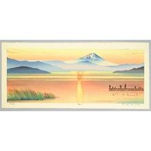 Okamoto Ryusei: Mt. Fuji in Evening Glow - Artelino