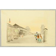 Ogata Gekko: Street Entertainers - One Hundred Fuji - Artelino