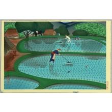 Ono Bakufu: Working in Rice Paddy - Artelino