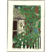 Brown Matt: Roses by Her Door - Artelino