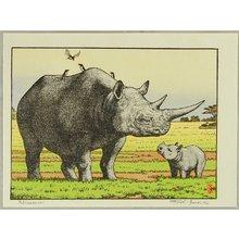 Yoshida Toshi: Rhinoceros - Artelino
