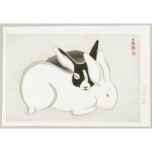 Imoto Tekiho: Rabbits - Artelino