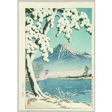 Kawase Hasui: Mt. Fuji After Snow - Tagonoura - Artelino