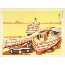 Asada Benji: Lake Biwa - New One Hundred Views of Japan - Artelino