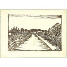 Hiratsuka Unichi: Landscape around Ushikunuma - Artelino