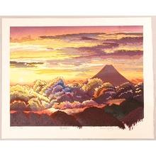 両角修: Sunrise at Mt. Fuji - Artelino