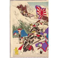 Watanabe Nobukazu: Battle in Snow - Sino-Japanese War - Artelino