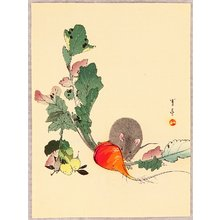 Watanabe Seitei: Mouse and Red Radish - Artelino