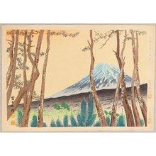 Tokuriki Tomikichiro: Fuji and Pines - 36 Views of Mt. Fuji - Artelino