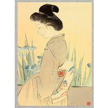 Kajita Hanko: Beauty and Irises - Artelino