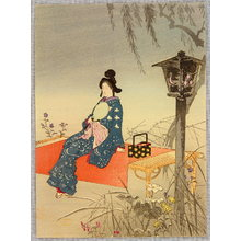 Tomioka Eisen: Summer Evening - Artelino
