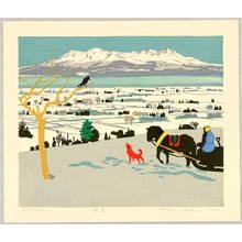 北岡文雄: Snow Scene - Artelino
