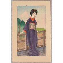 Nakazawa Hiromitsu: One Day at Maiko - Dancing Figure - Artelino