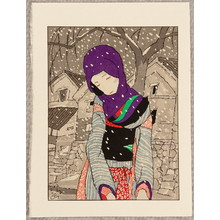 Takehisa Yumeji: Snowy Night Legend - Artelino