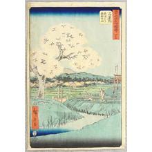 歌川広重: Ishiyakushi - Gojusan Tsugi Meisho Zue (Upright Tokaido) - Artelino