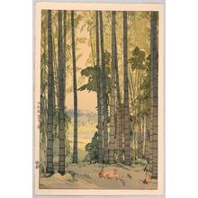 Yoshida Hiroshi: Bamboo Wood - Artelino