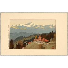 吉田博: Morning at Darjeeling - Artelino