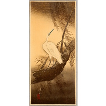 Ito Sozan: Egret in Stormy Weather - Artelino