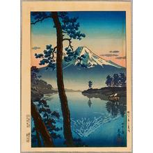 風光礼讃: Mt. Fuji seen from Tagonoura - Artelino
