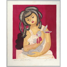 Sekino Junichiro: Girl and Rabbit - Artelino