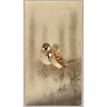 Ohara Koson: Two Sparrows - Artelino