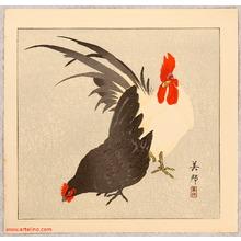 Takahashi Biho: Rooster and Hen - Artelino