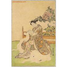Suzuki Harunobu: Elephant Girl - Artelino