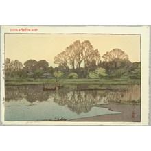 Yoshida Hiroshi: Yoshi River - Artelino