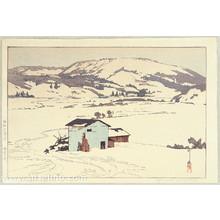 Yoshida Hiroshi: Winter in Taguchi - Artelino