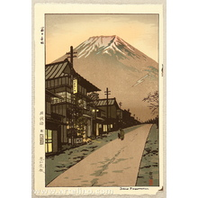 笠松紫浪: Mt. Fuji from Yoshida - Artelino