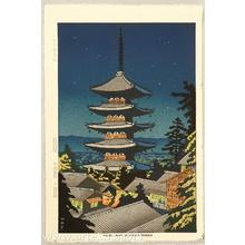 藤島武二: Moonlight at Yasaka - Artelino