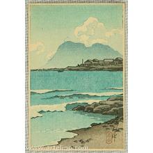 川瀬巴水: Beach - Artelino