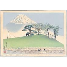 Tokuriki Tomikichiro: Mt. Fuji and Harvest - Artelino