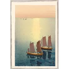 Yoshida Hiroshi: Glittering Sea - The Inland Sea - Artelino