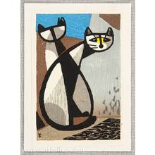 Inagaki Tomoo: Two Cats - Artelino
