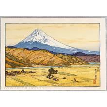 Yoshida Toshi: Mt. Fuji from Ohito - Autumn - Artelino