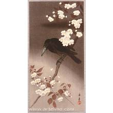 Imao Keinen: Crow and Cherry Blossoms - Artelino