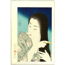 Torii Kotondo: Combing Her Hair - Twelve Aspects of Women - Artelino