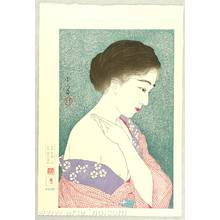 鳥居言人: Applying Powder - Twelve Aspects of Women - Artelino