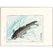 Kawanabe Kyosai: Carp - Kyosai Rakuga - Artelino