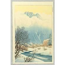 Henmi Takashi: Spring Snow at Kamikochi - Artelino