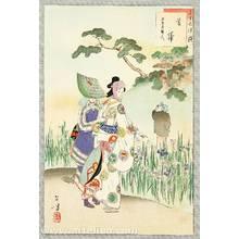 Mizuno Toshikata: Iris Garden - Thirty-six Selected Beauties - Artelino