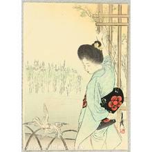 Ogata Gekko: Blooming Iris - kuchi-e - Artelino
