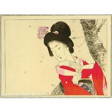 Suzuki Kason: Beauty and Cherry Blossoms - Artelino