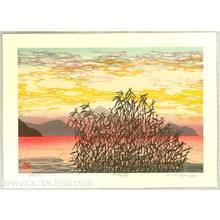 Nishijima Katsuyuki: Morning of Biwa Lake - Artelino