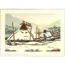 Nishijima Katsuyuki: Snow at Nagaya - Artelino