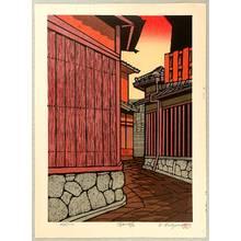 Nishijima Katsuyuki: Sunset Lane at Kiyomizu - Artelino